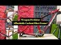Weapon Predator Carbon Fiber Frame (Initial Review And Impressions)