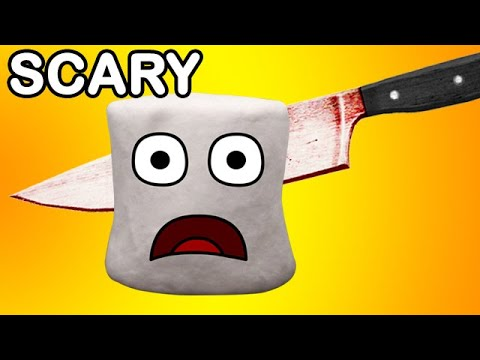 Marshmallow Murder (with Evil Annoying Orange) spoof