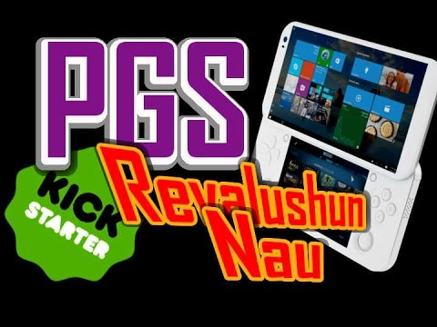 PGS - Kickstarter's Portable Console for PC Gaming