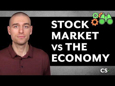The Stock Market vs. The Economy