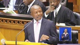 Drama In Parliament - Dawid Mabuza Refuse To Answer DA Question