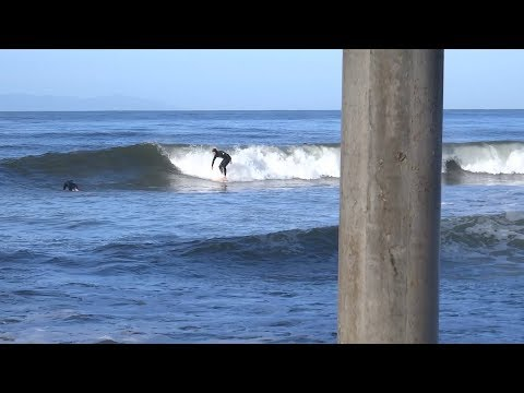 Huntington Beach, CA, Surf, 3/18/2018 - Part 5 (1080p)