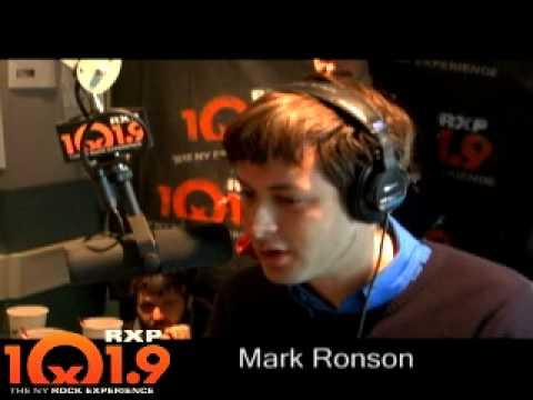 101.9 RXP Matt Pinfield and Mark Ronson Part 2