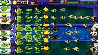 Plants Vs Zombies Full Coin  Gameplay Hunter Zombie night 2