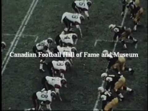 1964 Grey Cup highlights BC Lions vs. Hamilton Tiger-Cats