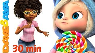 Download 🍭 Ava Ava Yes Mama | Johny Johny Yes Papa | Nursery Rhymes Collection 30 min from Dave and Ava🍭 Mp3 and Videos