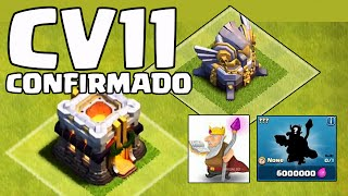 CLASHCON CV11 CONFIRMADO + NOVA DEFESA + NOVO HEROI CLASH OF CLANS