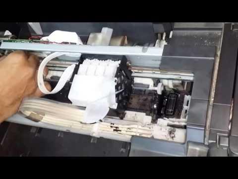 Epson L210 printer redlight blinking
