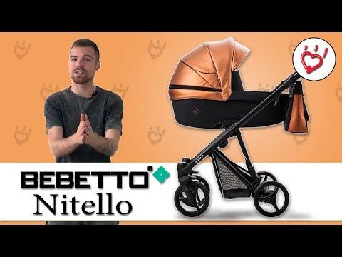 Bebetto Nitello универсальная коляска 2 в 1. Видео обзор Бебетто Нителло