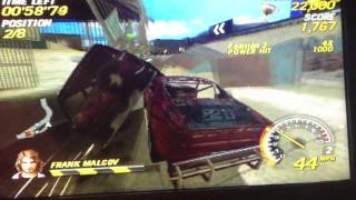 PSP Game Review: Flatout: Head On