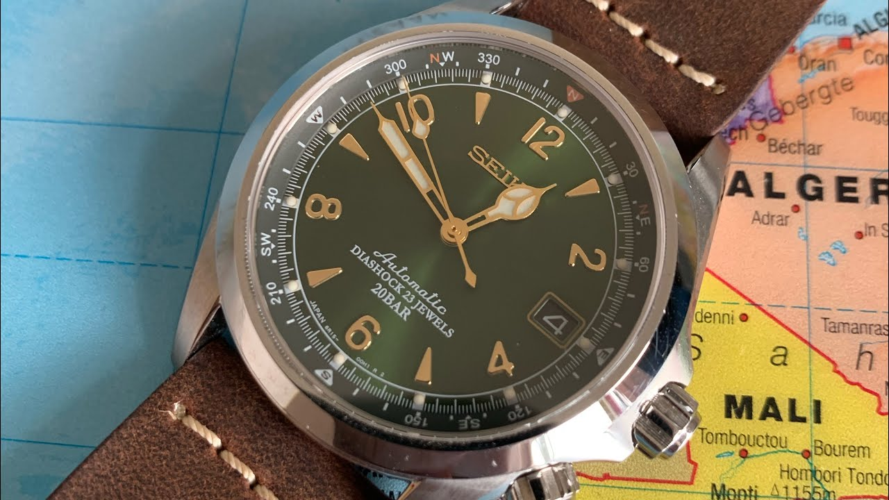 Best Leather Watch Straps >> The Best Leather Watch Strap Colareb Roma Venezia Tabacco Seiko