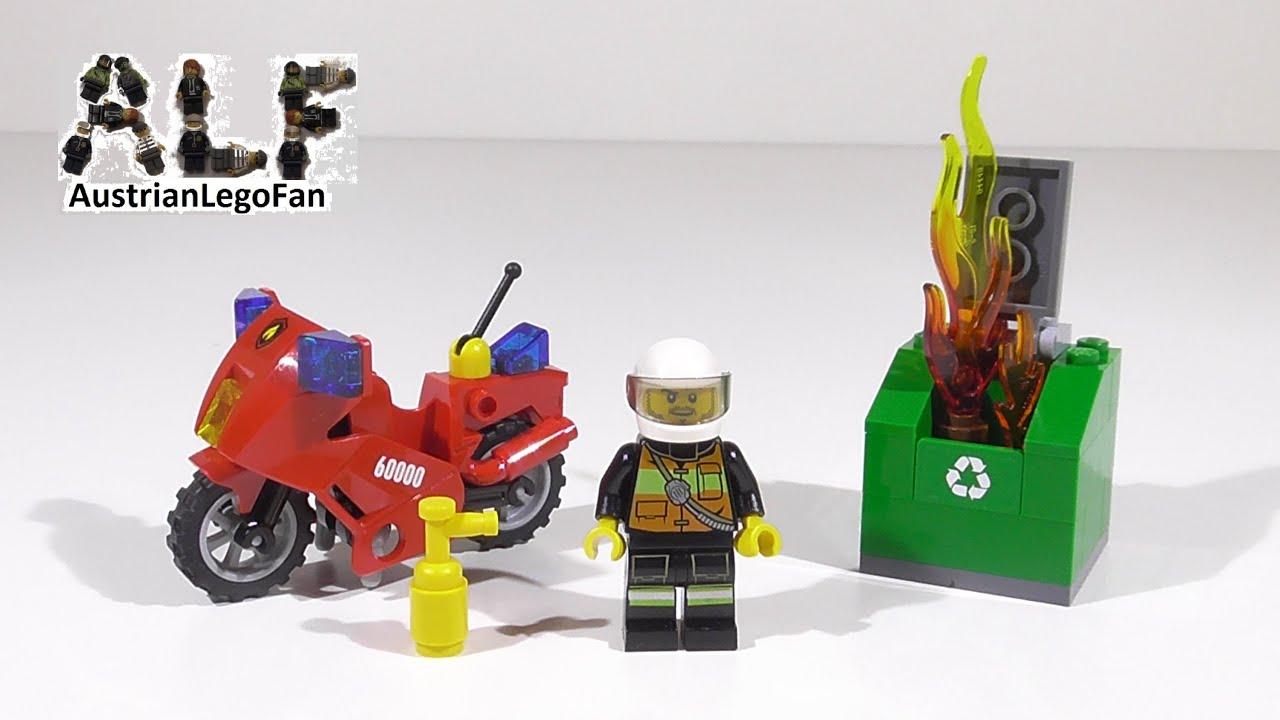 lego feuerwehr motorrad