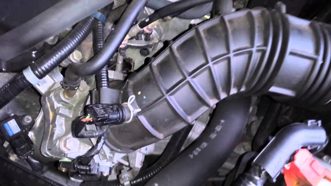 2003 Honda Accord Throttle Cable Youtube