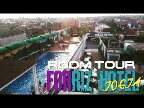 room-tour-forriz-hotel-jogja- -view-kolam-renang