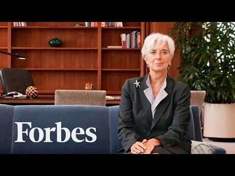 Christine Lagarde's Advice To Women: Grit Your Teeth & Smile