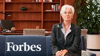 Christine Lagarde's Advice To Women: Grit Your Teeth & Smile | Forbes