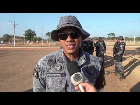 ROTAM traz treinamento a Força Tática de Vila Rica