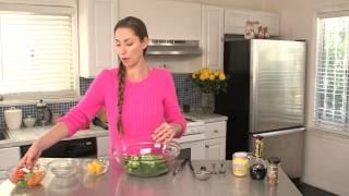 Detox Kale Crunch Salad   Tara Stiles Eats