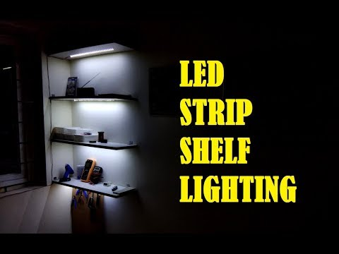 Led Strip Shelf Lighting You