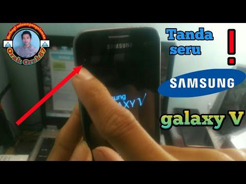 Samsung Galaxy V | Setelah Di Flash Keluar Tanda Seru Merah