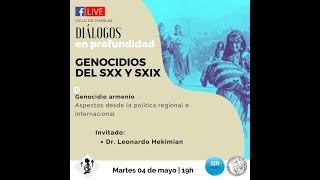 Diálogos en profundidad sobre GENOCIDIOS DE LOS SXX Y SXX (3)