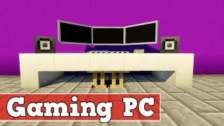 Wie baut man einen Computer in Minecraft | Minecraft Computer Bauen Deutsch Tutorial
