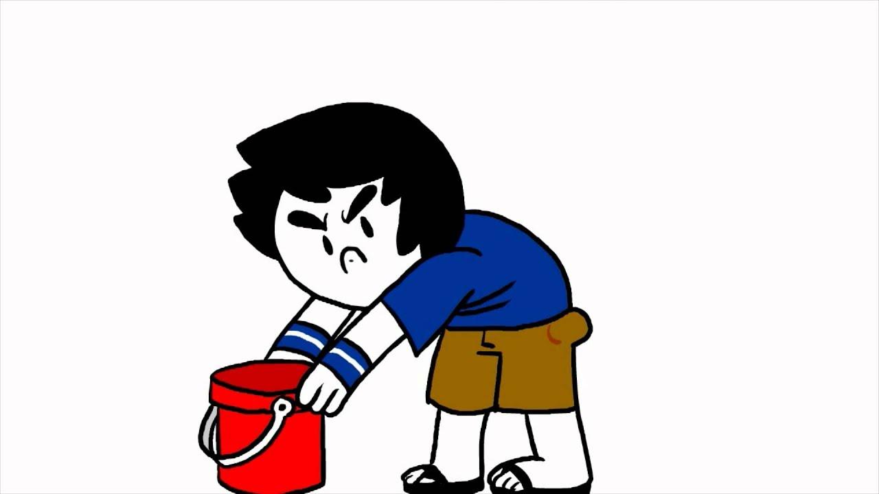 Dumb Shorts: Brandon's Ice Bucket Challenge. - by Brandon Turner