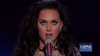 Katy Perry at Democratic National Convention (C-SPAN)