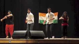 Eva/Nishant/Shruti/Vivek - Badtameez Dil/Mauja Hi Mauja (Dance) - UBC UTSAV Deepmala 2013