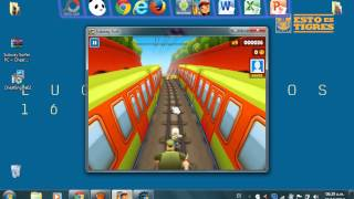 Como Descargar SubWay Surfers para PC + Hack de Monedas!!!! [MEGA]