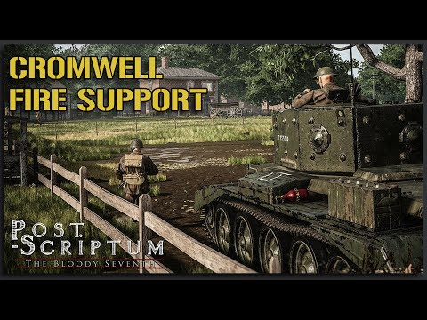 EPIC Cromwell Fire Support! - Post Scriptum Gameplay |