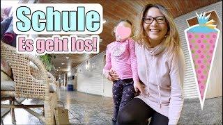 So aufgeregt! 🙈 Claras Schulanmeldung | Schulreife Test| Passfoto machen | Mama Vlog | Mamiseelen