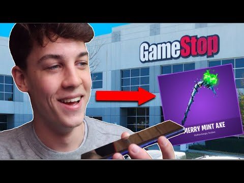 I Called EVERY GameStop For The *RARE* Minty Pickaxe! (Fortnite Battle Royale)