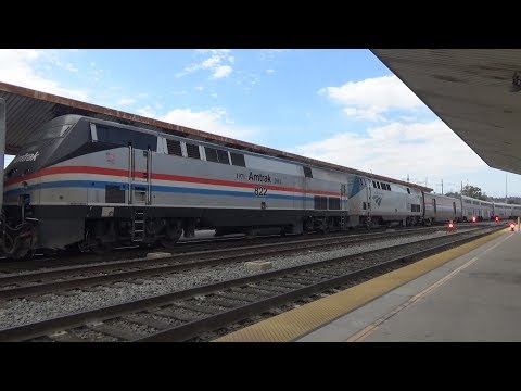 [300 Subscriber Special] Railfanning Commerce and LA Union Station 7/15/17 | AMTK 822, and MORE