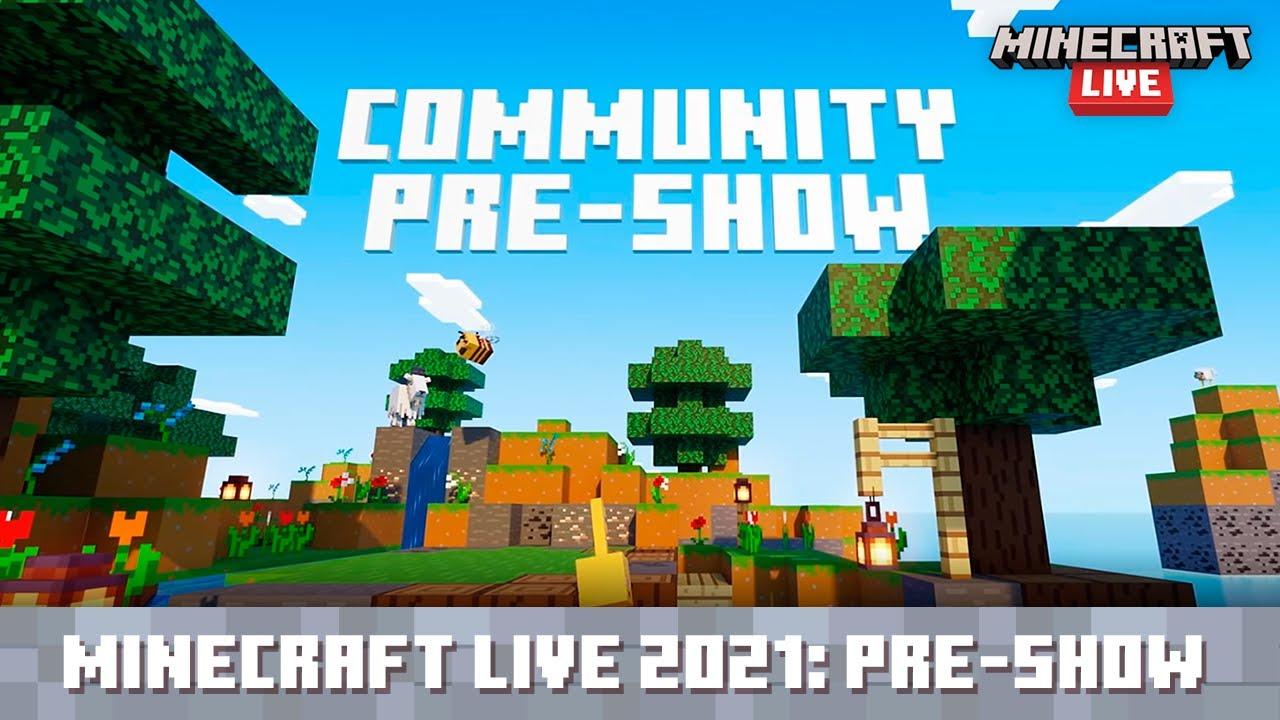 Minecraft Live 2021: Community Pre-show