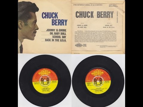 MY CHUCK BERRY 7 SINGLES & EP'S COLLECTION