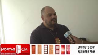 Delegado Bruno Silva falou sobre as ocorrências policiais de Russas e região