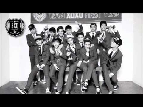 EXO @ MAMA 2013 - Growl Live [Remix] MP3+DL