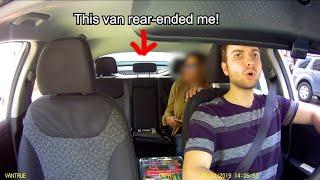 Uber Car Crash - I was rear-ended