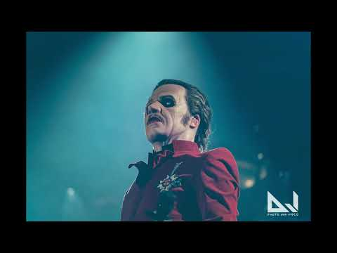 Ghost Interview Tobias Forge @ Hartwall Areena, Helsinki 28.11.2019