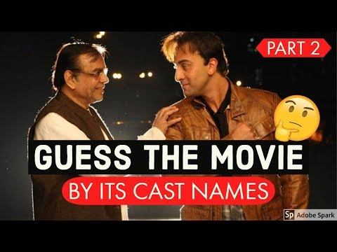 Guess The Bollywood Movie By Its Cast #2 | Bollywood Movies Songs Challenge/Quiz Video 2019