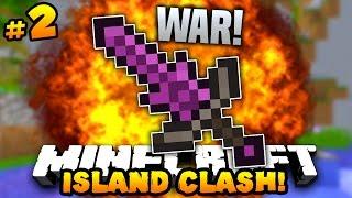 """Minecraft ISLAND CLASH #2 """"GOING TO WAR!"""" w/PrestonPlayz & MrWoofless"""