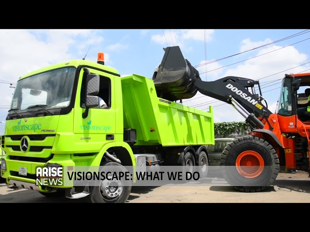Visionscape Sanitation Solutions- ARISE TV- John and Maimuna