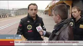 Robert Kubica news polsat 31.01.11 интервью
