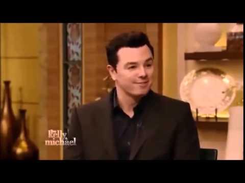 Seth MacFarlane Talks Ted 2 on Kelly and Michael