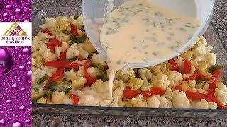 BİR TANE KARNABAHARDAN BİR TEPSİ DOLUSU Muhteşem Bir Yemek/ Pratik Yemek Tarifleri