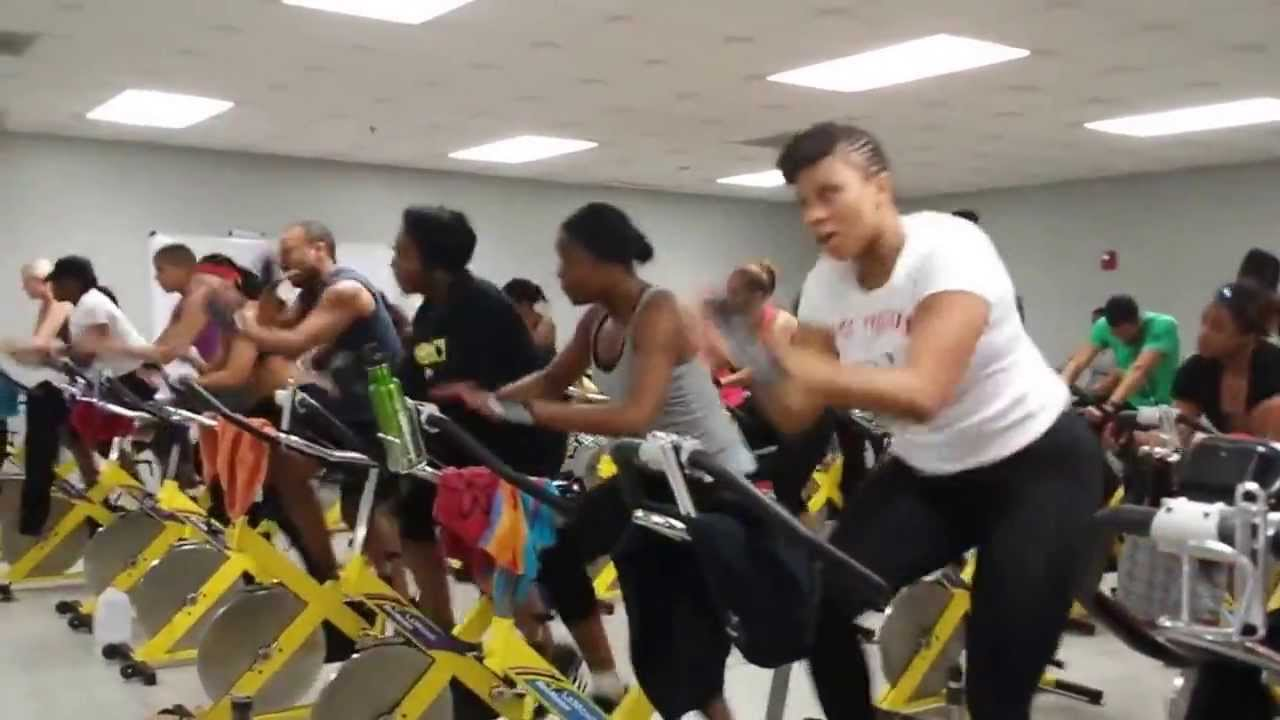 Hip Hop Spin Class with KTX - YouTube