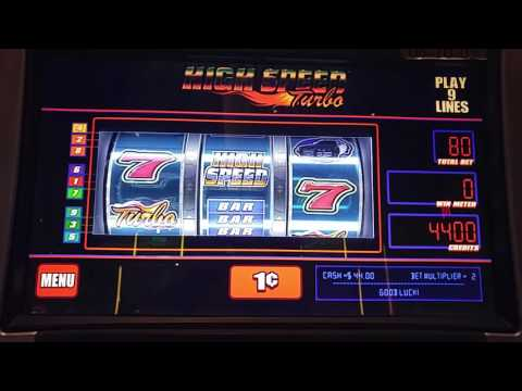 Nice Win! High Speed Turbo slot machine at Maryland Live! Casino