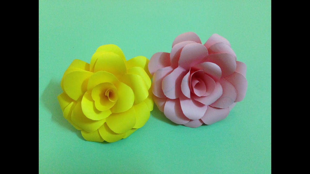 Origami Cherry Blossom - Origami Easy - YouTube | 720x1280