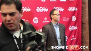 They Came Together: David Wain And Wife Red Carpet